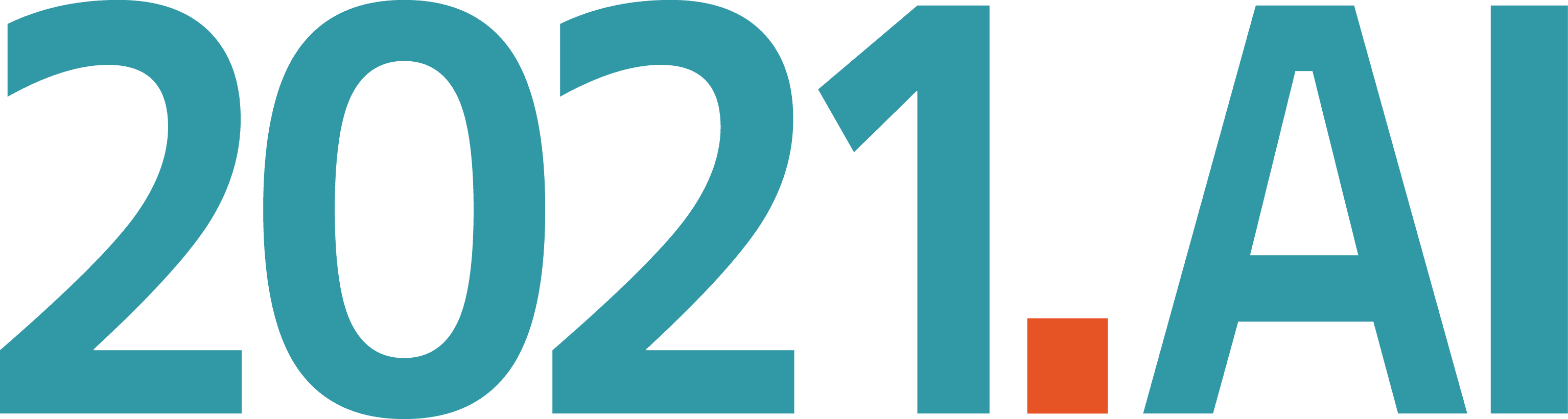 2021 ai, logo, artificial intelligence, ai, partner